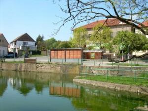 Rybník na Náměstí 5. května