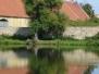 Rybník Mirešák v létě